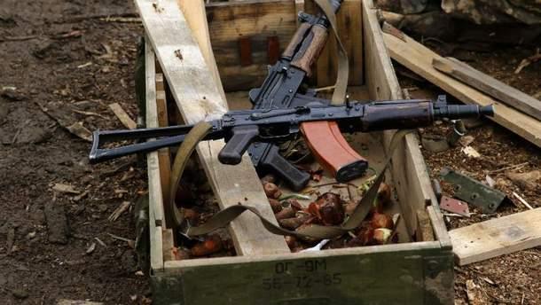 Оружие военных в зоне АТО
