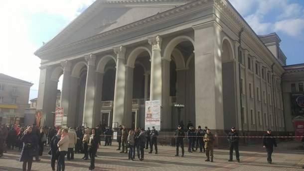 Заминирование театра в Ровно
