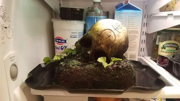 Торт у формі черепа