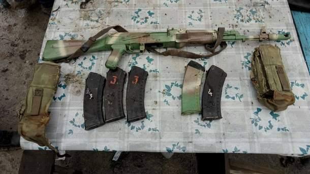 Найденное оружие
