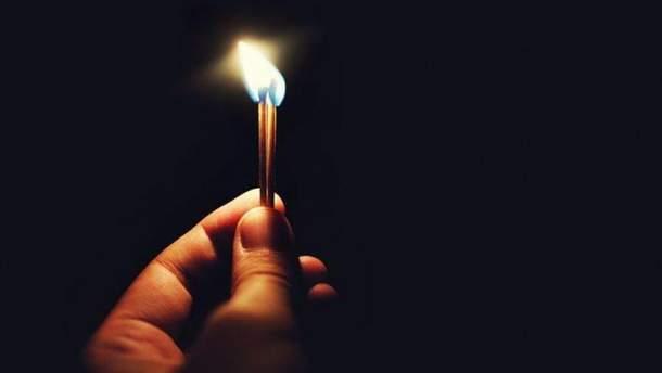 В Луганске нет света