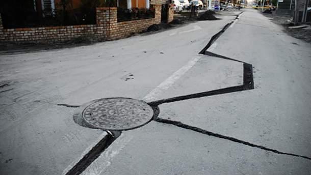 Наслідки землетрусу (ілюстрація)