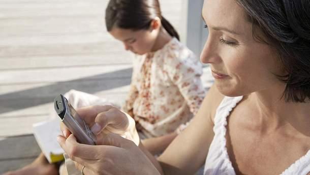 Батьки і мобільні пристрої