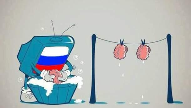 Бойовики готують пропагандистський сюжет про ЗСУ