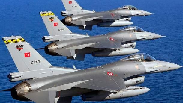 Военные самолеты Турции