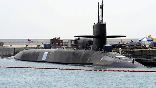 К берегам КНДР прибыла подводная атомная лодка США