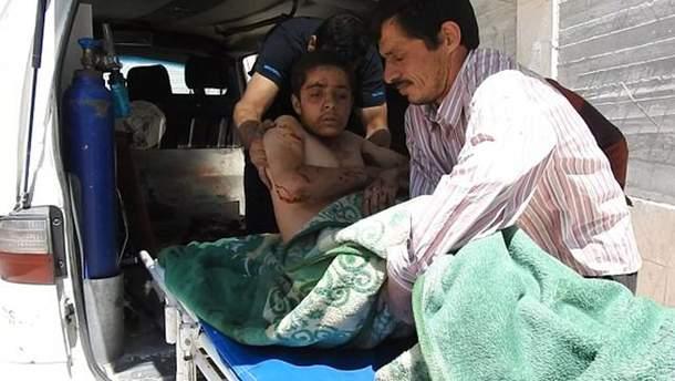 Від нових авіаударів по Сирії постраждали мирні люди