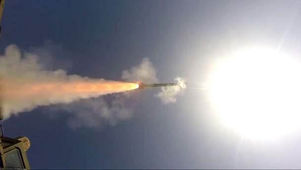 """Випробування ракетного комплексу """"Вільха"""""""