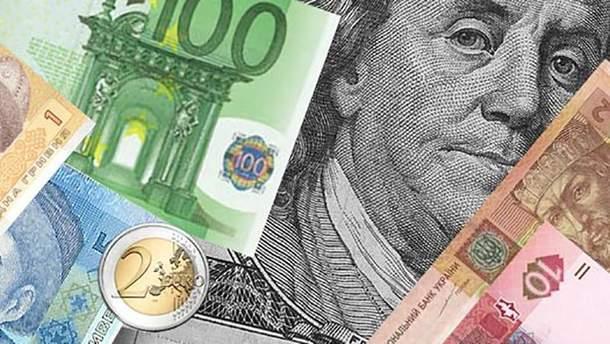 Готівковий курс валют 25 квітня