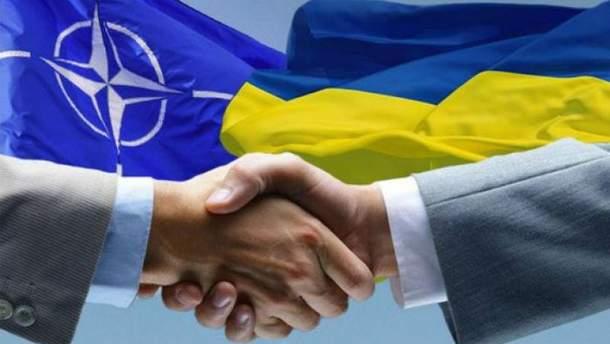 Співпраця України та НАТО