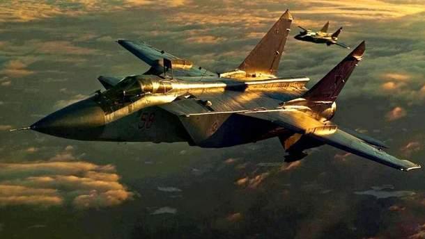 Винищувач-перехоплювач МіГ-31