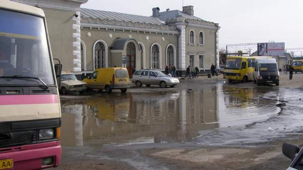 Вокзал у Дрогобичі