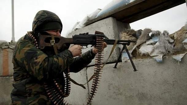 Режим прекращения огня на Донбассе не действует