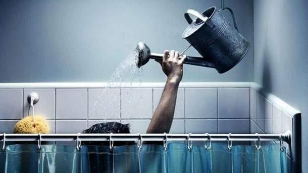 Семь районов Киева без горячей воды