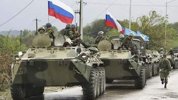 Российские боевики на Донбассе
