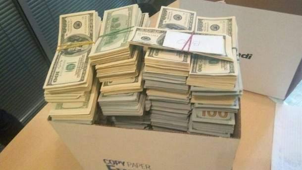 Боевикам передали более 60 миллионов гривен