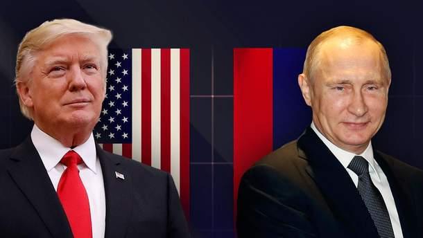 Дональд Трамп і Володимир Путін зустрінуться наприкінці травня