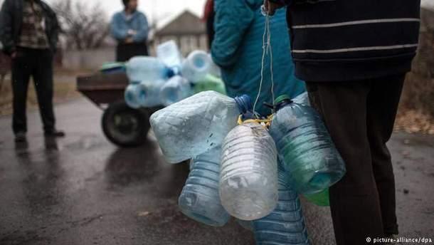 В Україні є проблеми з водопостачанням окупованого Донбасу