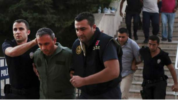 Масові арешти в Туреччині