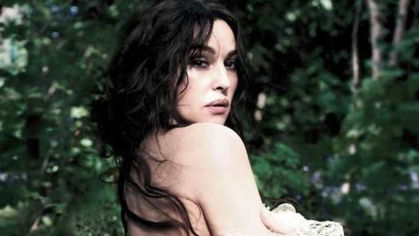 4713f0826226ae2 Моника Белуччи снялась полуобнаженной в привлекательной фотосессии ...