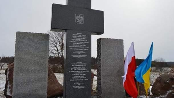 Польські пам'ятники в Україні