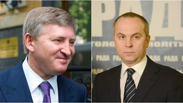 Ринат Ахметов и Нестро Шуфрич