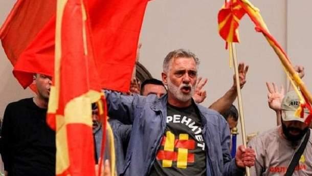 Політична криза в Македонії: демонстранти захопили парламент