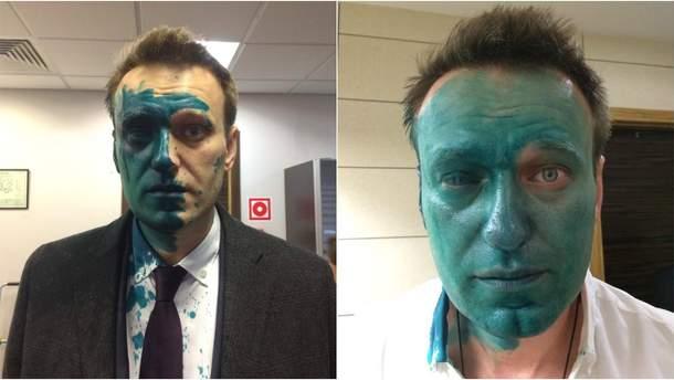 Нападение на Навального