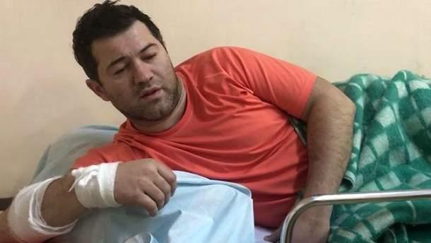 Роман Насіров в лікарні