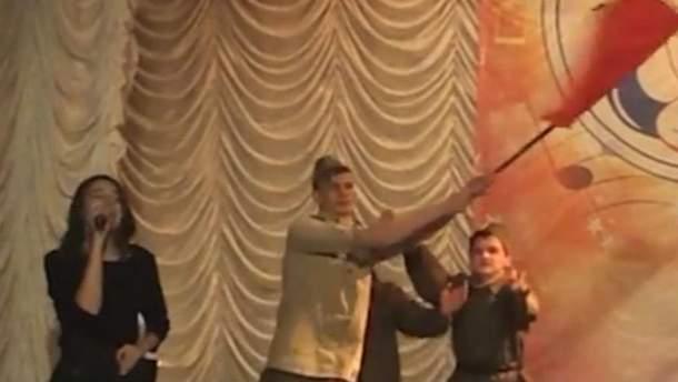 Концерт в оккупированном Севастополе