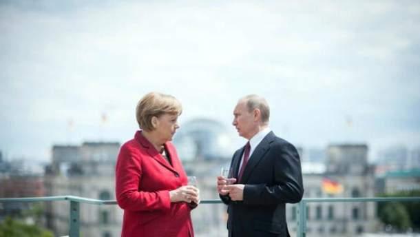 Меркель і Путін зустрінуться в Сочі