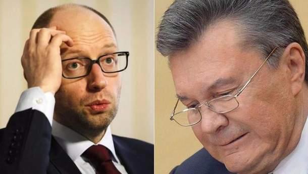 Арсеній Яценюк, Віктор Янукович