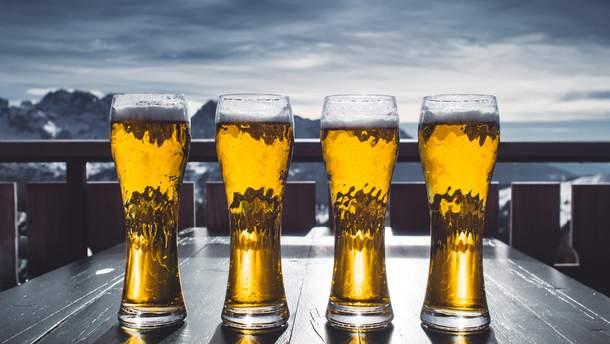 Пиво снимает боль