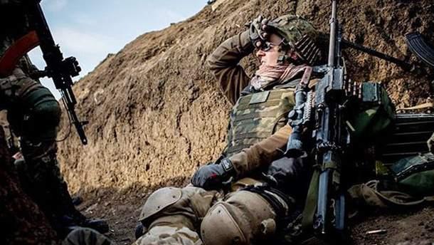 29 апреля в АТО получили ранения 4 украинских бойцов