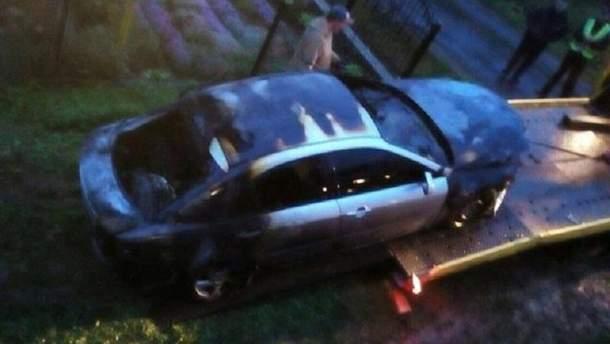 Сожгли авто кандидату в мэры