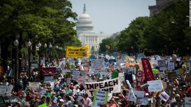 Протести проти політики Трампа