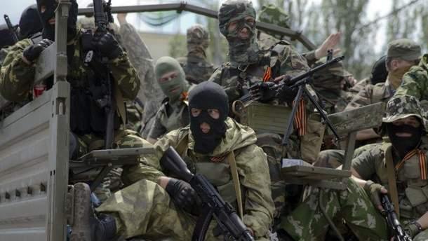 """Бойовики звинувачують у цьому """"українські ДРГ"""""""