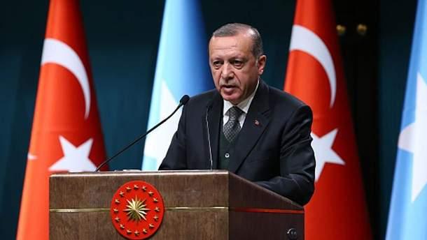 Президент Туреччини Реджеп Ердоган