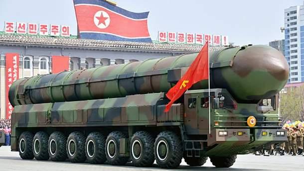 Новая межконтинентальная баллистическая ракета КНДР