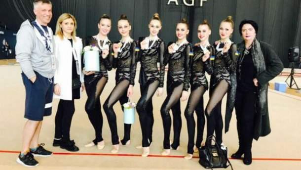 Украинские гимнастки, которые одержали победу