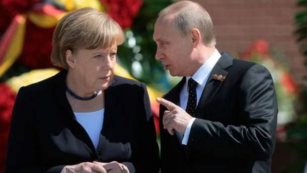 Стало відомо, чого Путін вимагав від Меркель у Сочі
