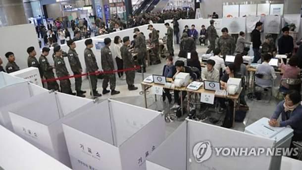 Дострокове голосування в Південній Кореї