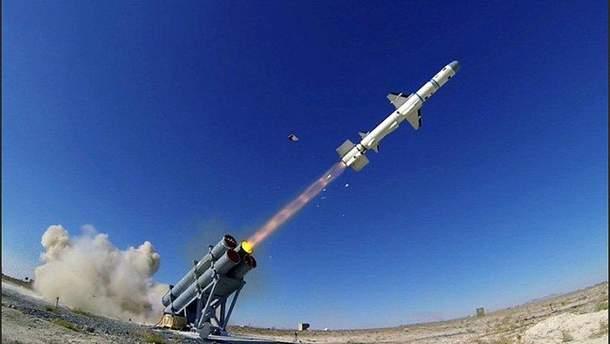 Випробовування турецької ракети