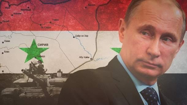 Путин заявляет, что может обеспечить перемирие в Сирии