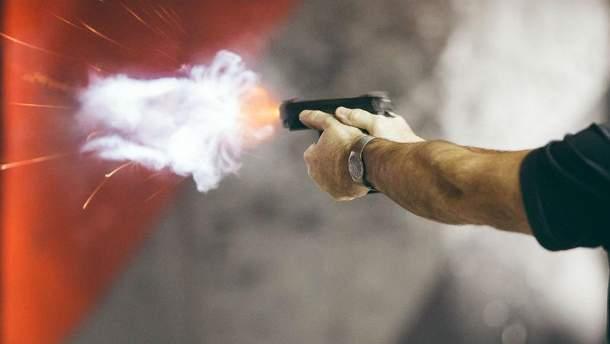 Стрельба в Киеве (Иллюстрация)