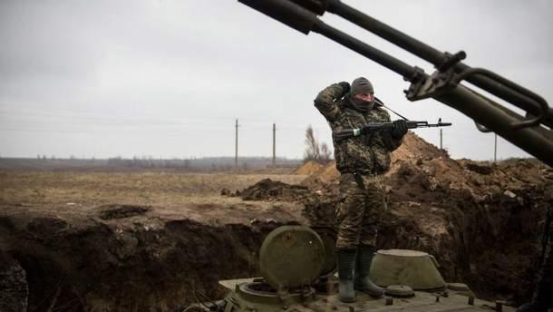 Украинский военный в зоне АТО, Авдеевка