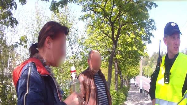 В Житомире женщина своеобразно отметила день рождения