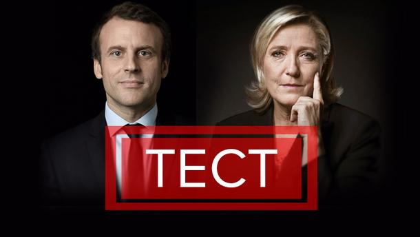 Эммануэль Макрон и Марин Ле Пен борются за кресло президента Франции