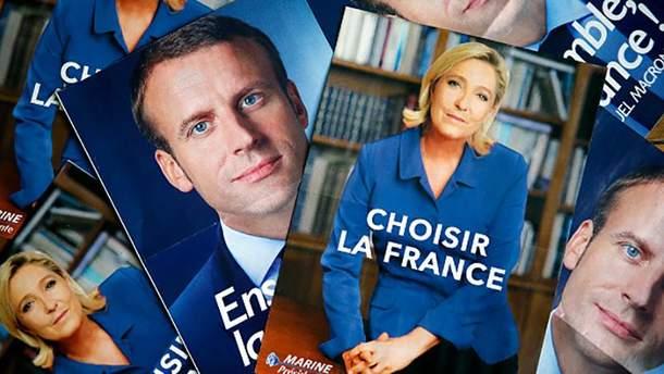 7 мая французы будут выбирать между Эммануэлем Макроном и Марин Ле Пен