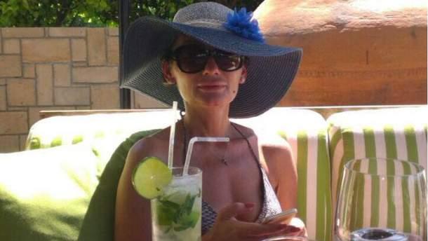 Катерина Рожкова відпочиває на Кіпрі